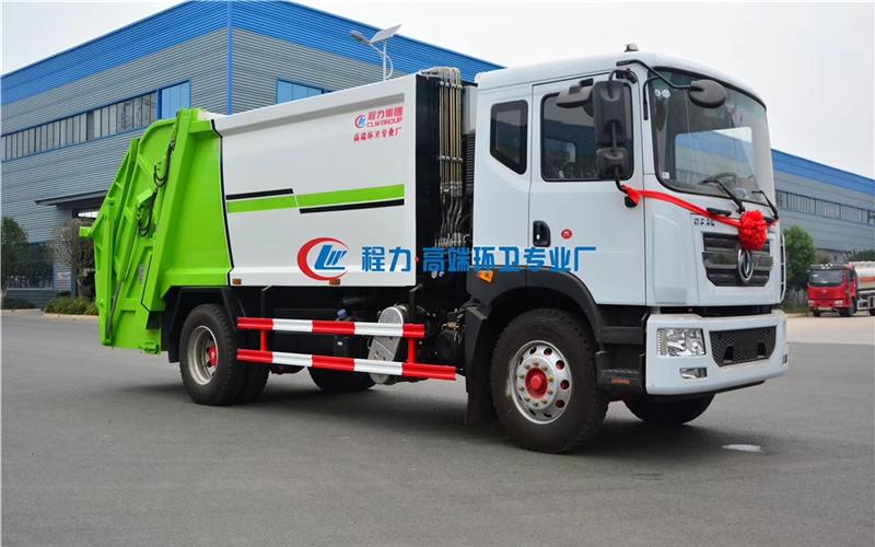 东风D9多利卡12方压缩式垃圾车(国六)