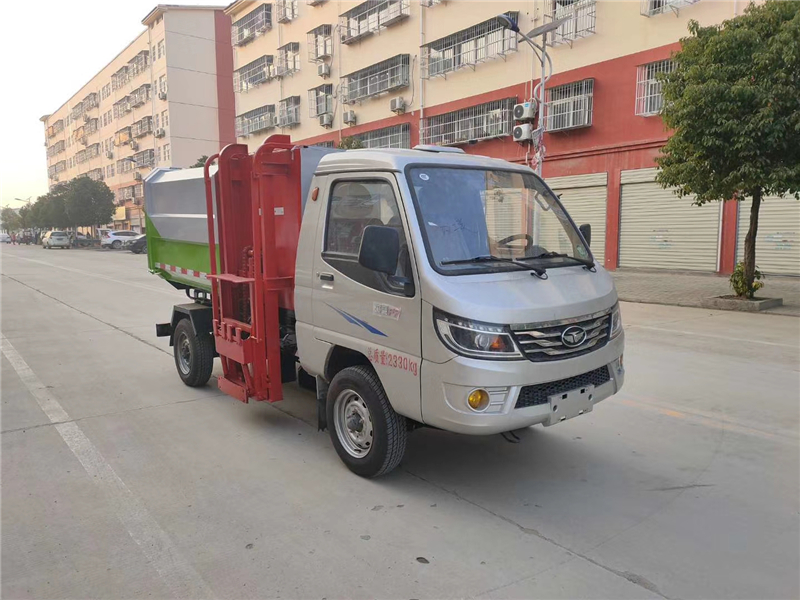 唐骏4方挂桶垃圾车(国六)